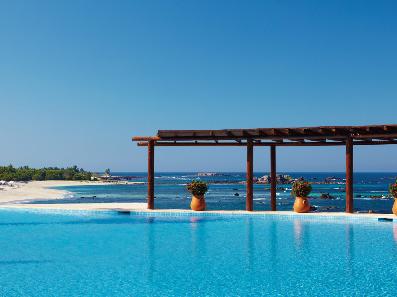 Pool at Four Seasons Resort Punta Mita, Mexico