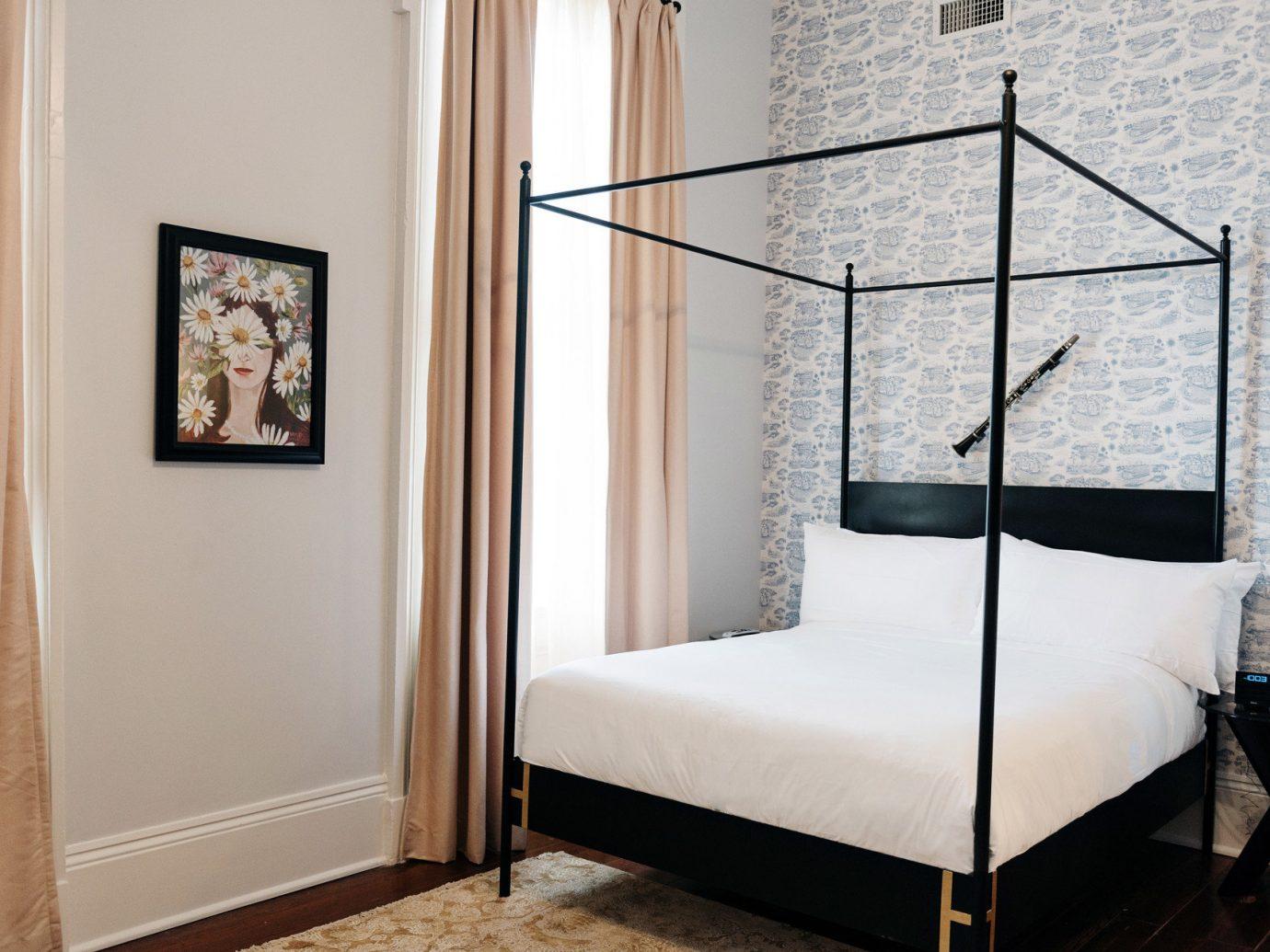 Girls Getaways New Orleans Trip Ideas Weekend Getaways indoor wall floor bed room furniture Bedroom interior design home wood Design window living room door cottage decorated