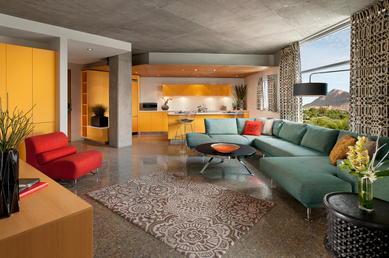 Jetsetter Guides Lounge Luxury Scenic views sofa living room property condominium home Suite Villa cottage