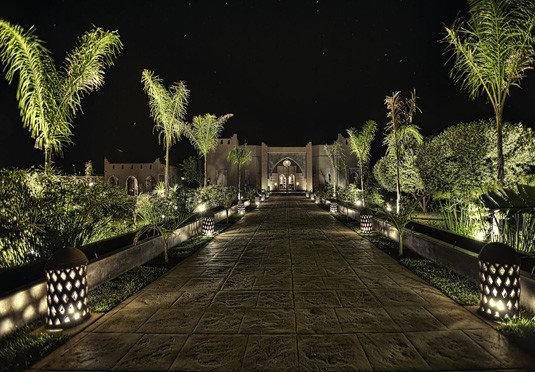 tree ground night landmark light landscape lighting darkness screenshot Jungle lighting mansion plant