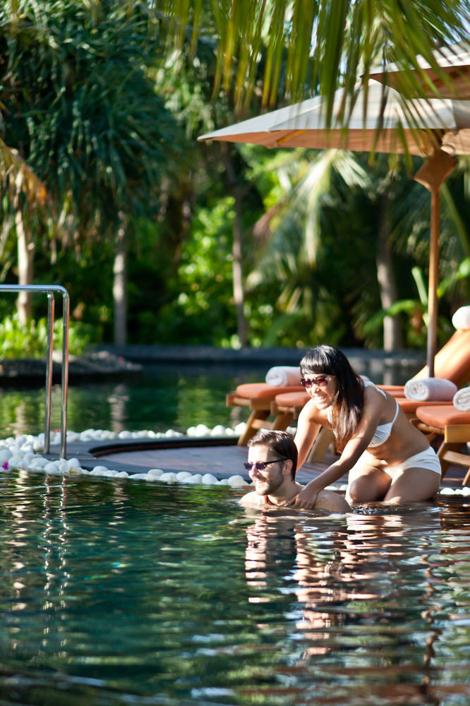 tree water leisure swimming pool Jungle Resort swimming