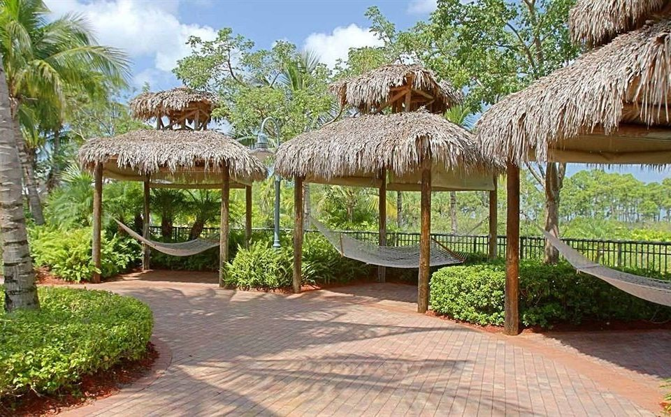 tree grass property Resort hacienda outdoor structure eco hotel backyard gazebo Villa Jungle