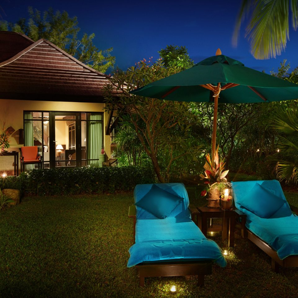 tree blue Resort house backyard landscape lighting green screenshot swimming pool Villa Jungle set mansion lush