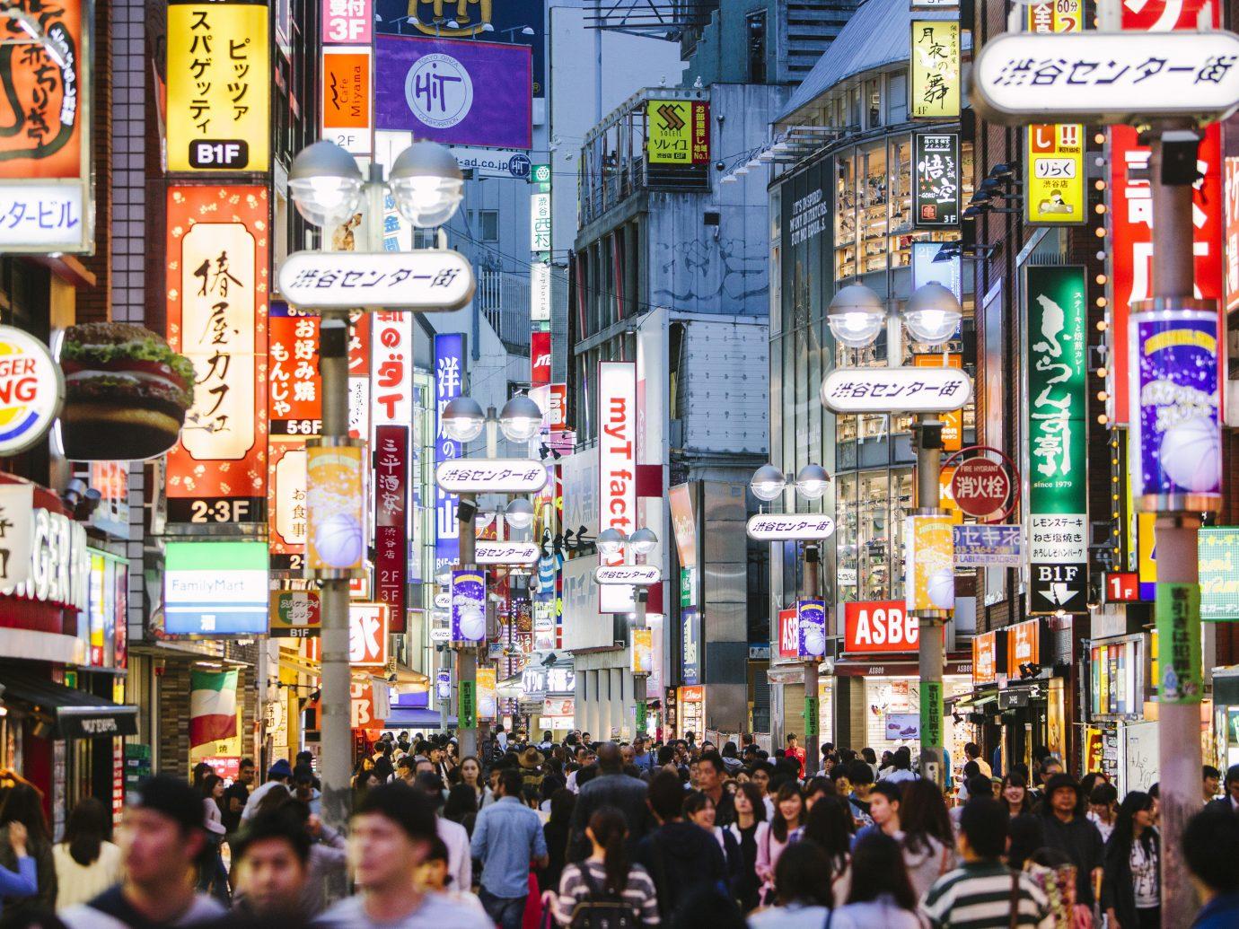 Trip Ideas outdoor street person urban area City metropolis walking metropolitan area shopping people pedestrian crowd market night busy