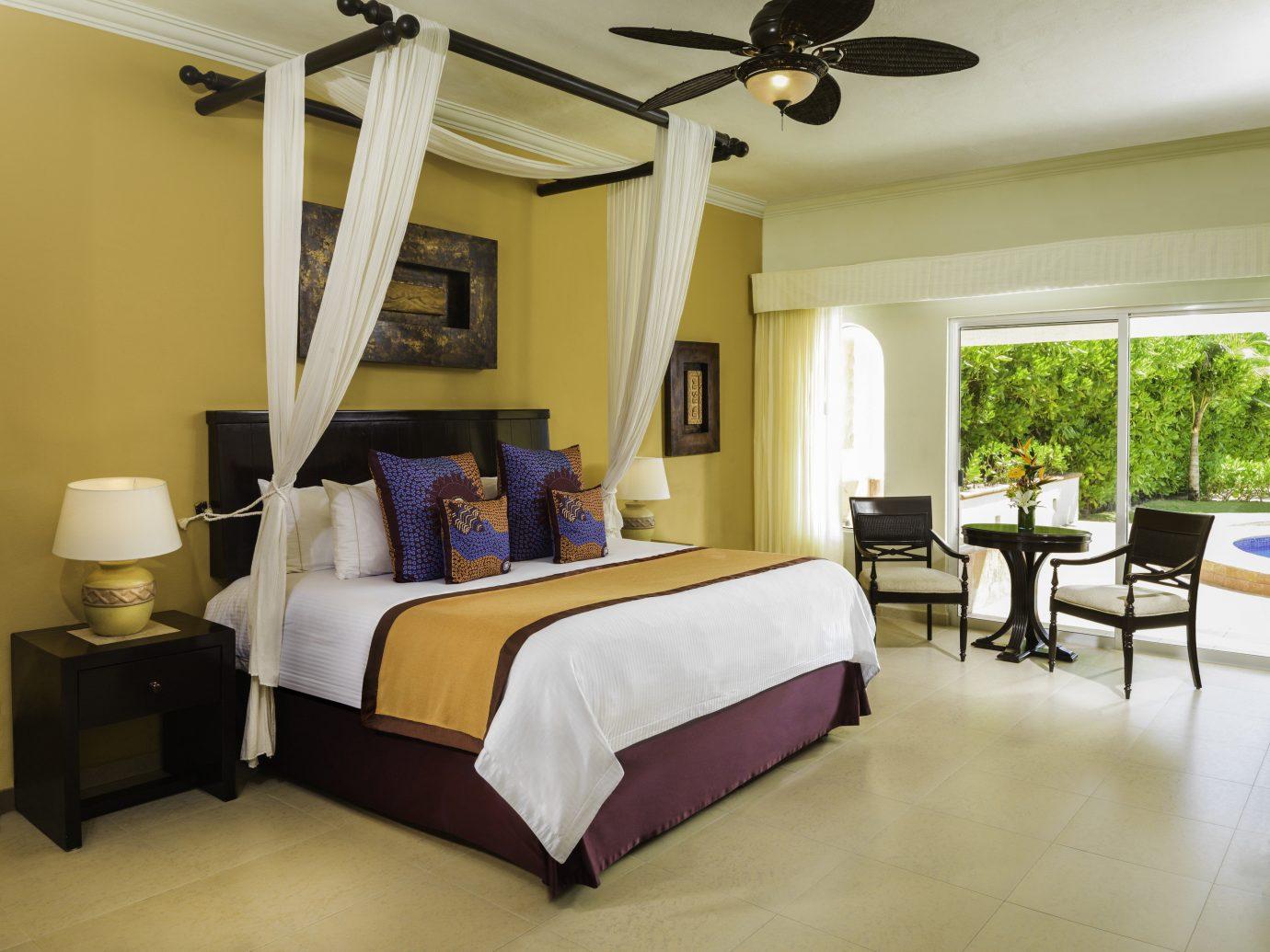 Hotels indoor floor wall room bed ceiling interior design Bedroom estate Suite real estate hotel window furniture bed frame area several