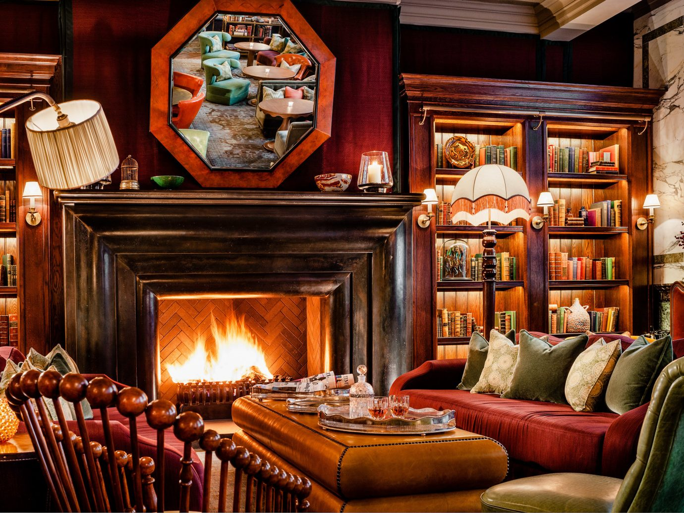 Food + Drink Trip Ideas indoor Living room living room interior design home Fireplace hearth furniture