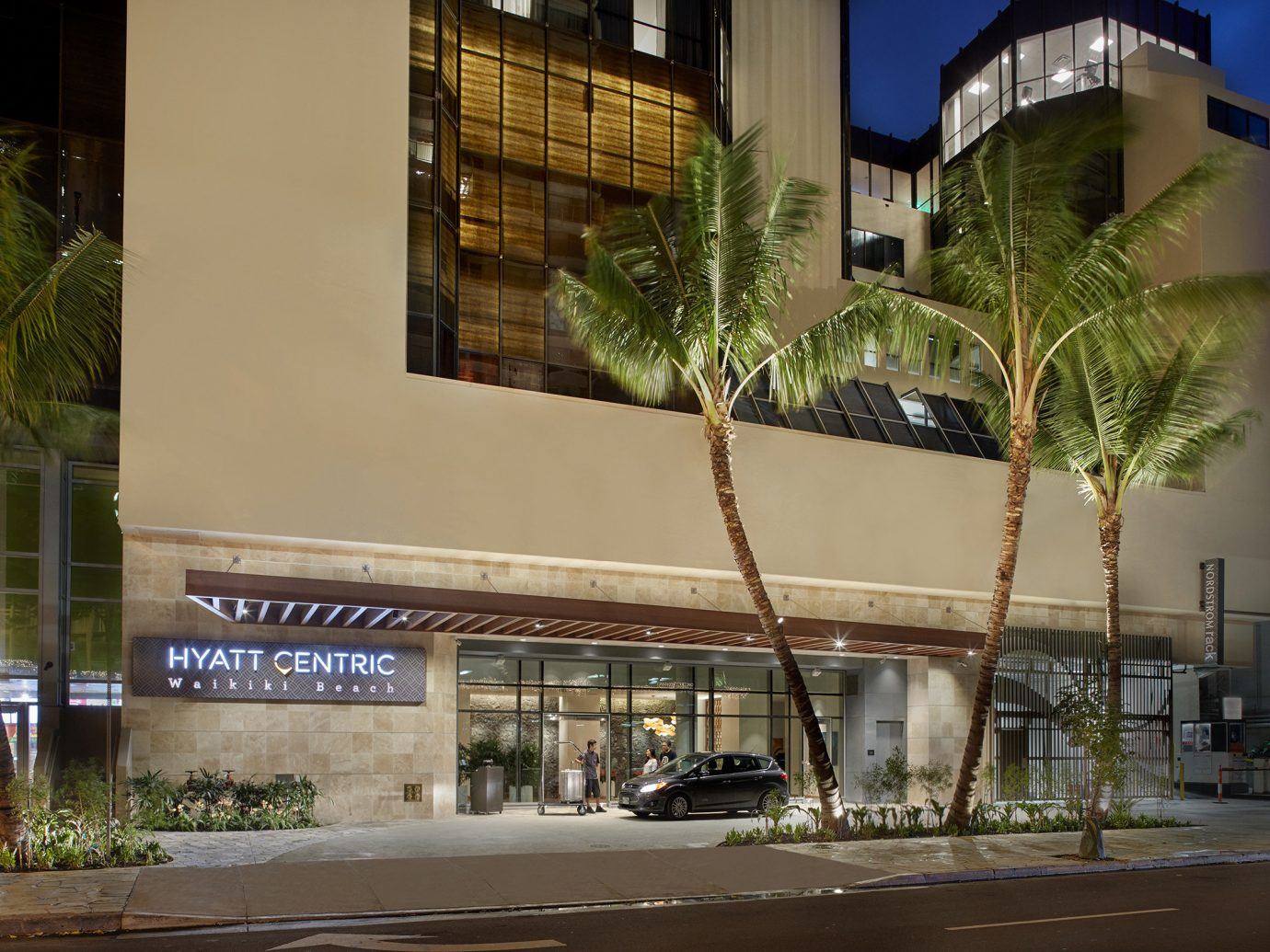 Boutique Hotels outdoor urban area neighbourhood shopping mall Architecture Downtown plaza condominium facade retail