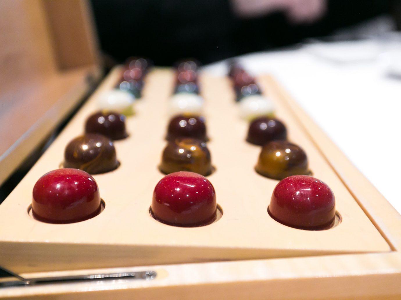 Food + Drink indoor food dessert chocolate praline produce cake baking cuisine petit four sweetness fruit meal