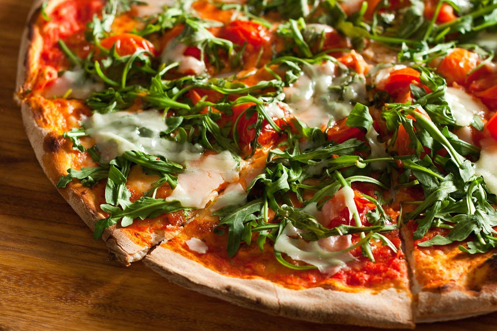 News pizza food dish cuisine italian food wooden produce bruschetta european food vegetable tomato toppings fresh sliced
