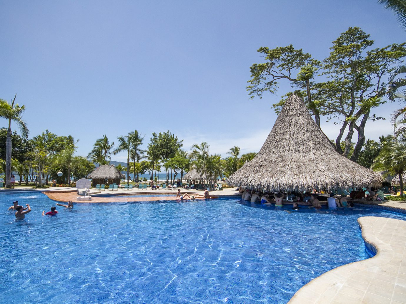 Pool at Barcelo Tambor in Costa Rica