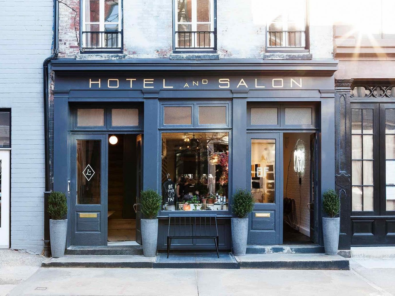 Boutique Hotels Hotels Philadelphia facade door window building