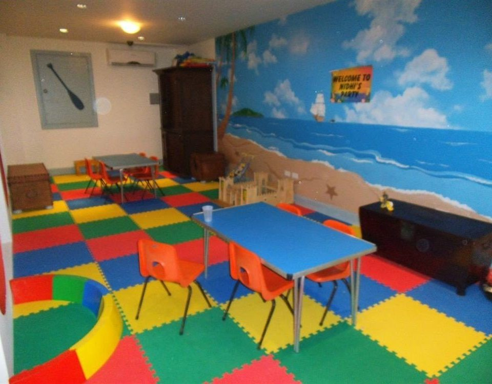 Kids Club Play classroom kindergarten colorful