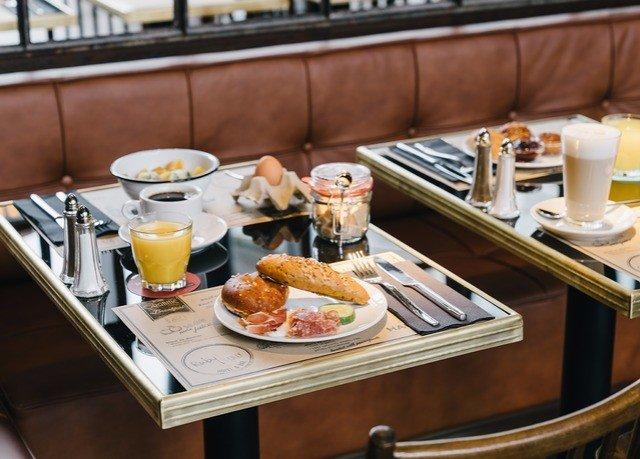 brunch breakfast food Kitchen appetizer full breakfast cuisine counter finger food cluttered dining table