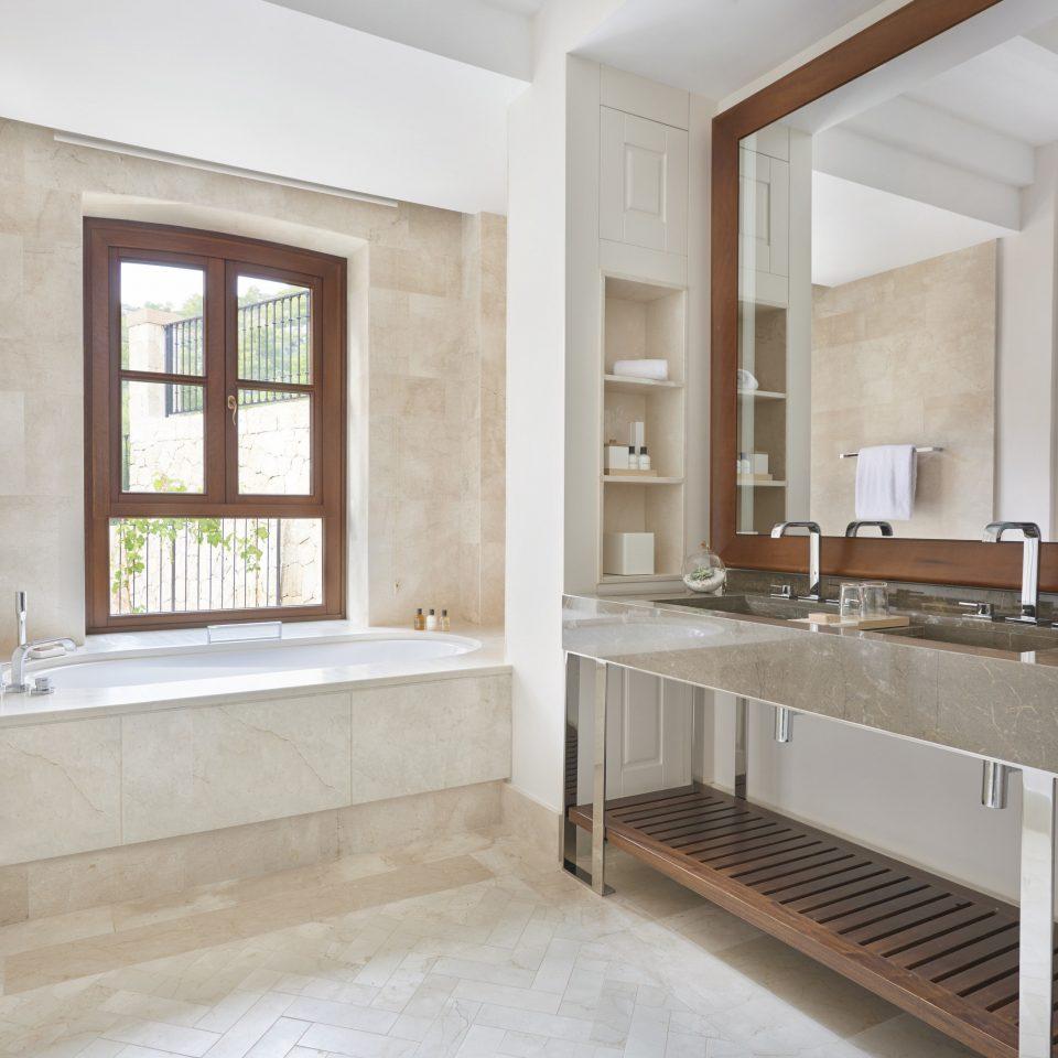 property bathroom cabinetry home hardwood countertop sink flooring Kitchen farmhouse tile plumbing fixture bathtub appliance