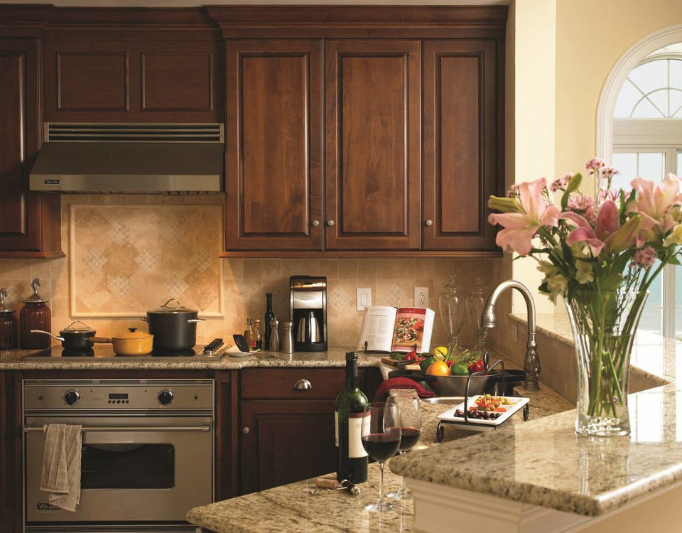 cabinet Kitchen property countertop cabinetry home hardwood cuisine classique living room counter wood flooring flooring appliance kitchen appliance stove