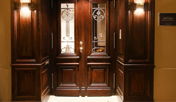 cabinet Kitchen door cabinetry wood stain wooden hardwood wardrobe appliance