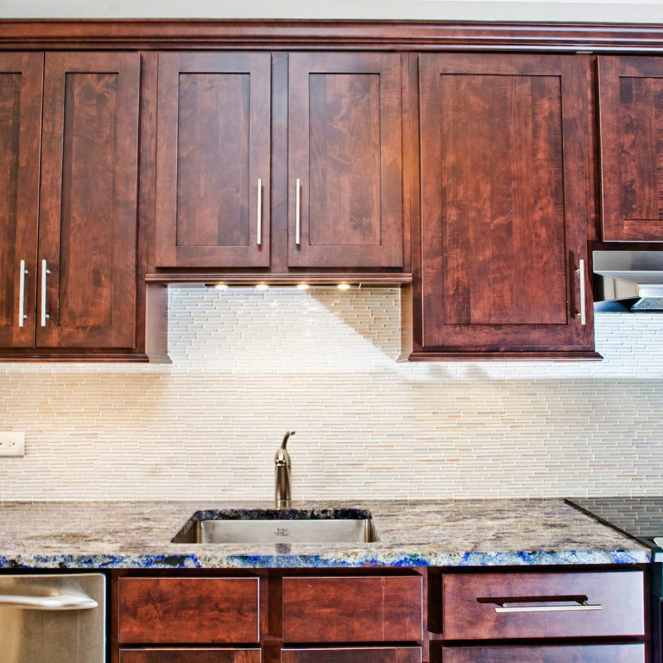 cabinet Kitchen wooden countertop cabinetry appliance hardwood counter home cuisine classique wood stain stove material oven sink stainless wardrobe
