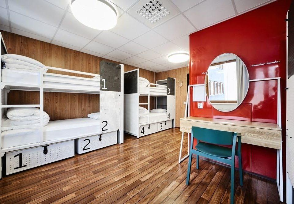 property home wooden vehicle cabinetry cottage Kitchen loft hard appliance kitchen appliance