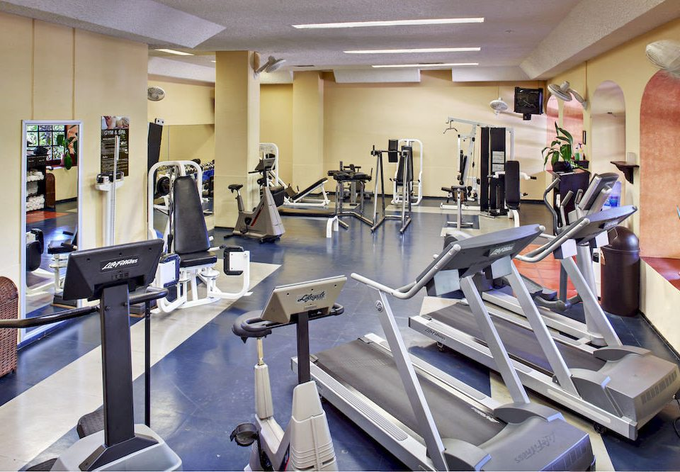 structure gym Kitchen sport venue office appliance cluttered