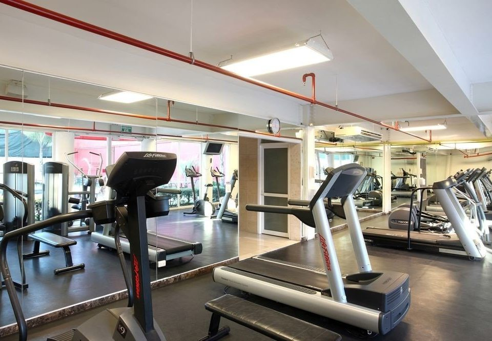 structure Kitchen gym sport venue condominium steel appliance