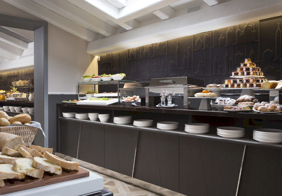 bakery Kitchen food counter buffet restaurant cuisine breakfast cafeteria brunch