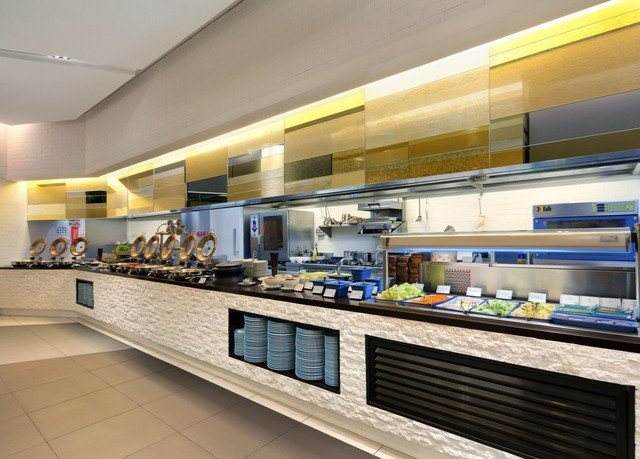 Kitchen counter cafeteria restaurant food bakery food court fast food restaurant