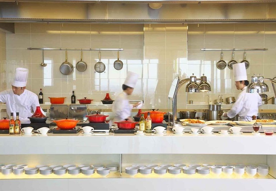 Kitchen counter cook culinary art food bakery sense pastry chef