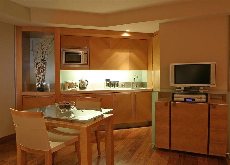 Kitchen property cabinetry countertop home hardwood cuisine classique cottage basement