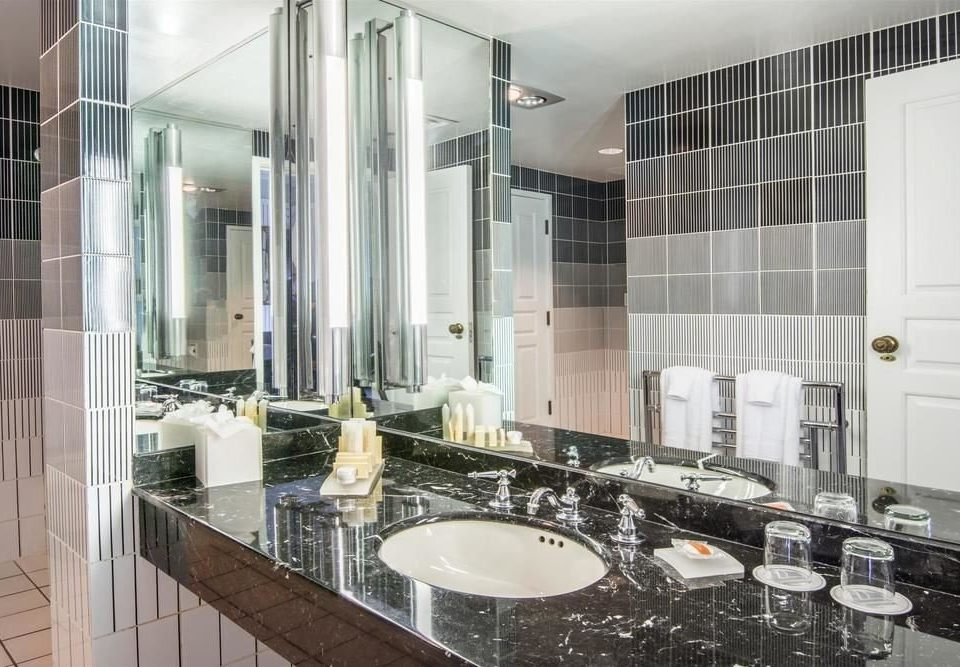 bathroom sink property condominium home Kitchen countertop toilet flooring glass material mansion tile tiled bathtub