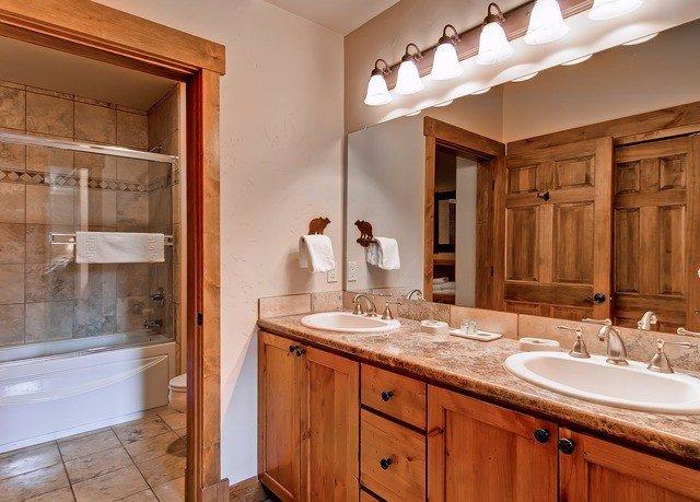 cabinet bathroom property cabinetry Kitchen sink home countertop hardwood cuisine classique cottage farmhouse tile