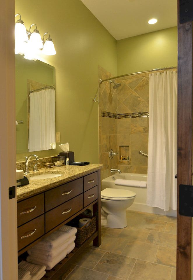 bathroom sink property mirror cabinetry home Kitchen cottage tile