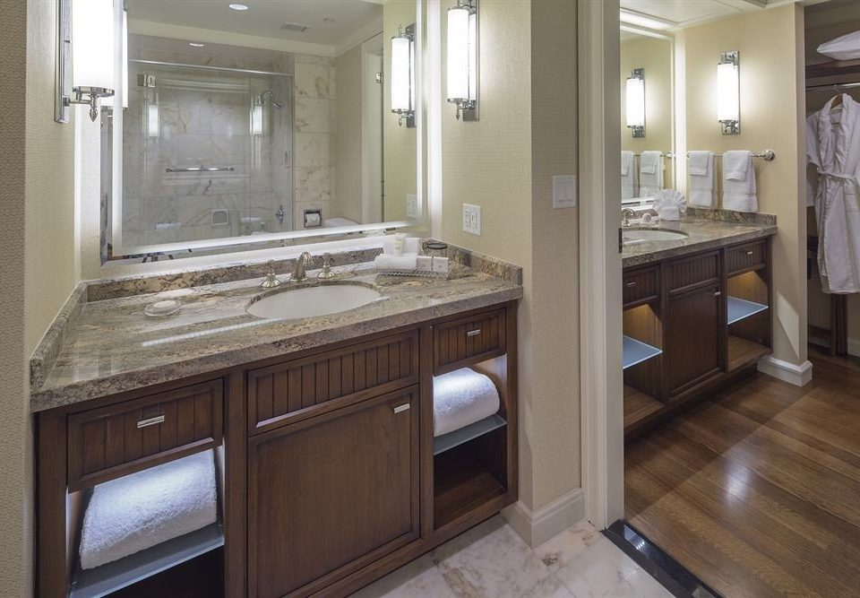 bathroom property sink Kitchen countertop cabinetry home hardwood cuisine classique cottage flooring mansion tile tan