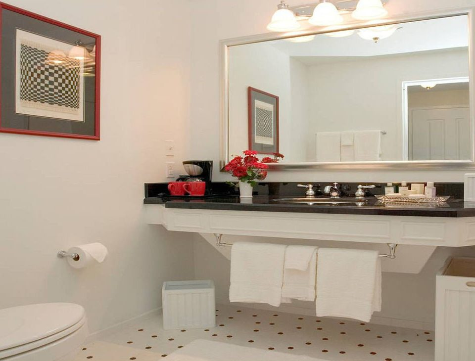 property white home countertop bathroom flooring Kitchen cottage cabinetry