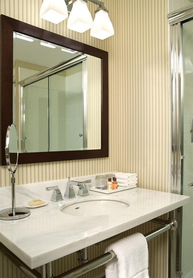bathroom sink mirror property countertop cabinetry home white Kitchen counter plumbing fixture material