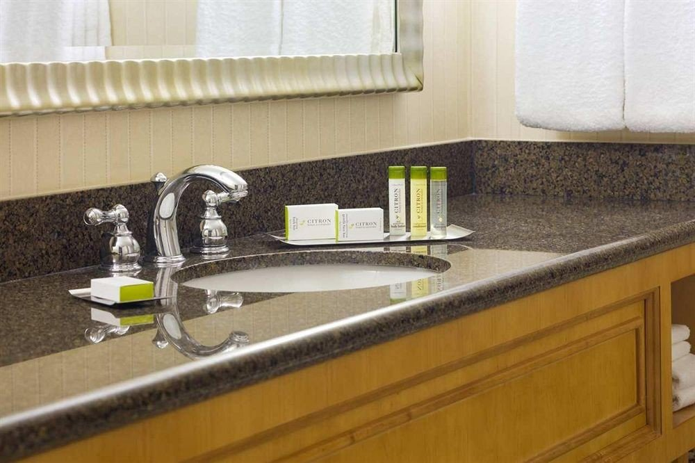 countertop sink counter Kitchen material plumbing fixture flooring bathroom granite