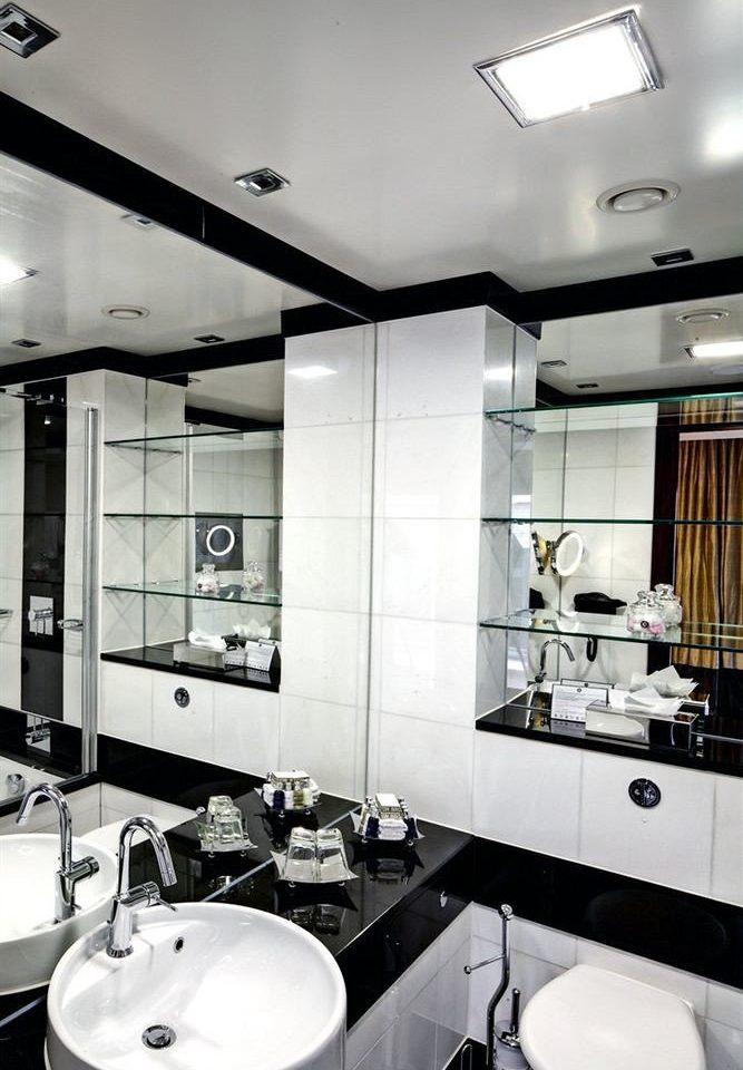 bathroom sink property home lighting Kitchen