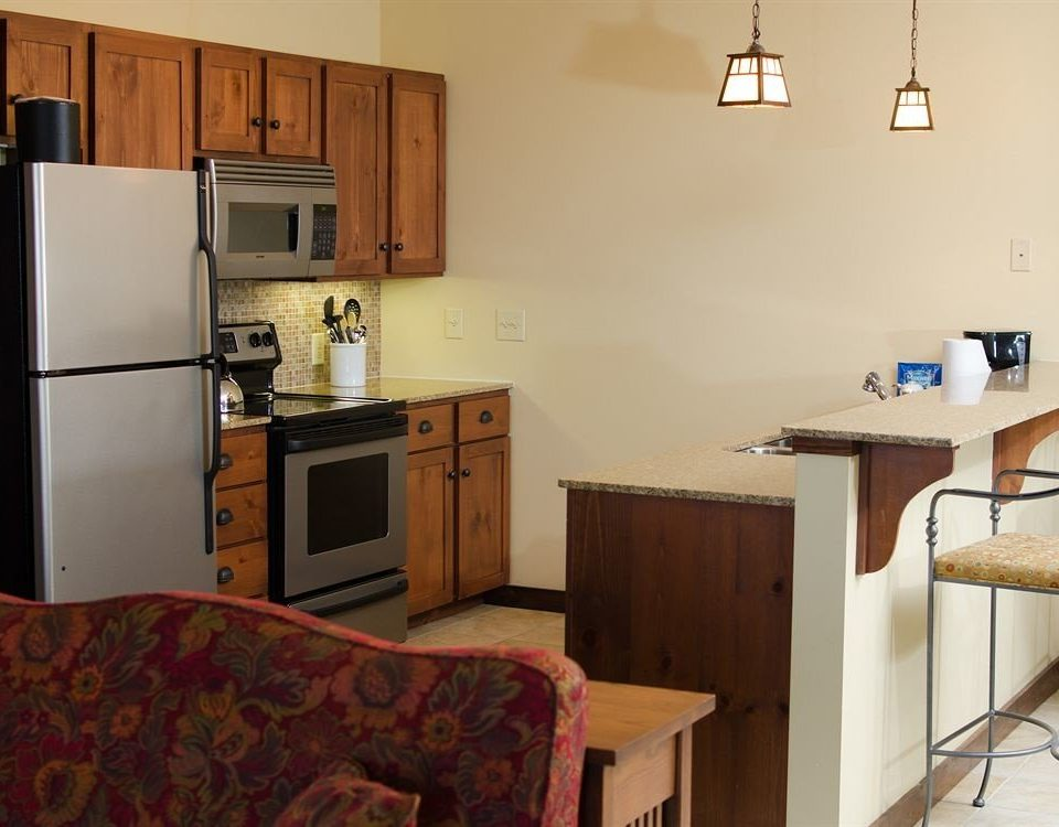 property Kitchen building cottage home house hardwood cluttered