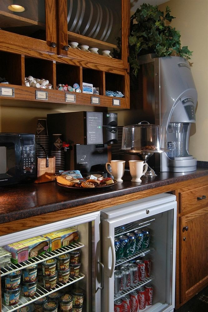 Kitchen cabinetry home food shelf cluttered