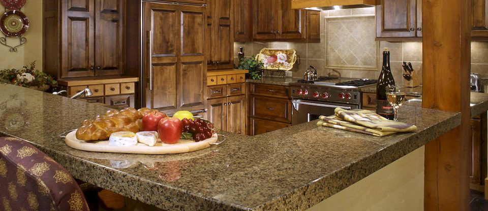 Kitchen countertop property home cottage cabinetry counter farmhouse