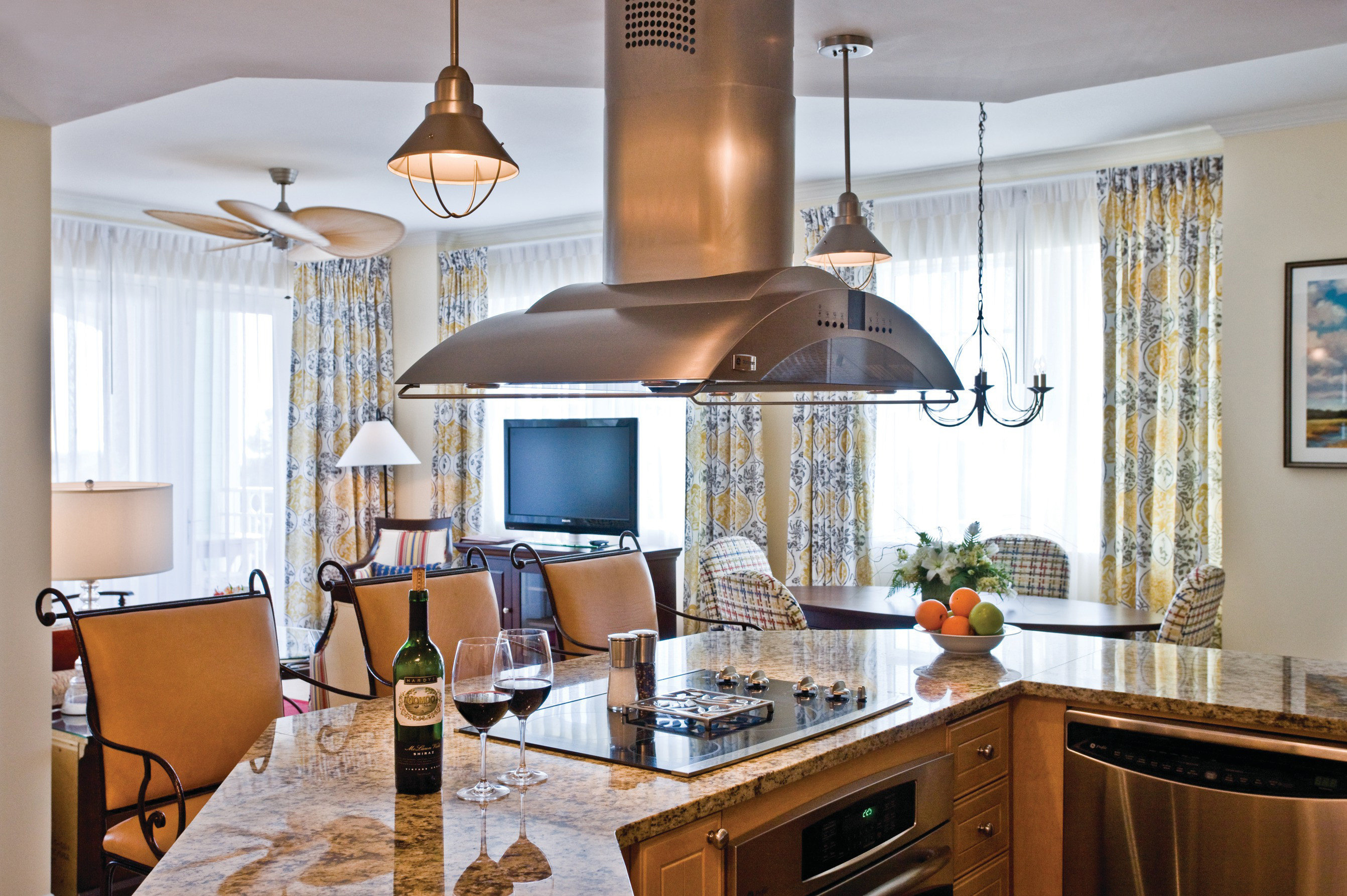 property Kitchen home cuisine classique hardwood cabinetry cottage living room farmhouse cuisine