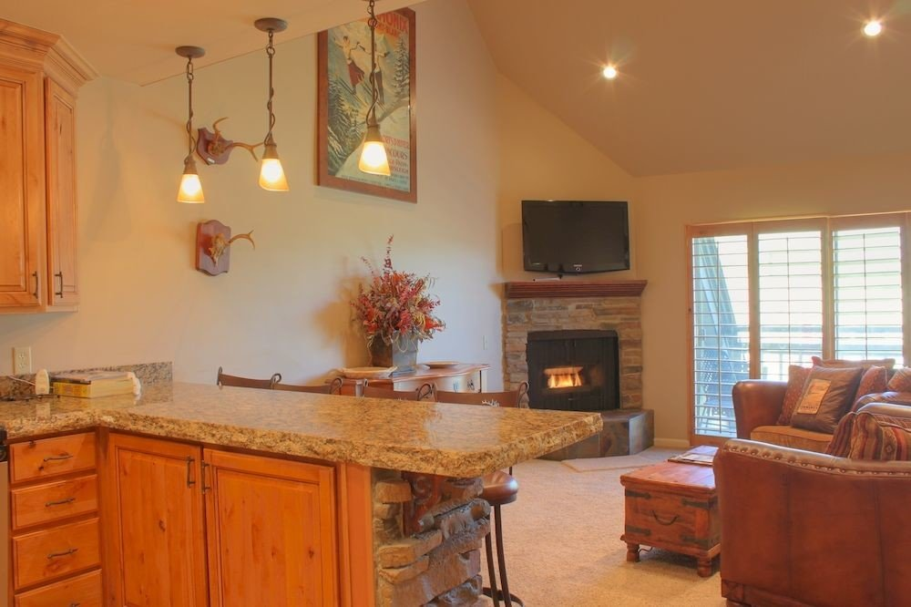 property home house cottage Kitchen hardwood farmhouse cabinetry living room