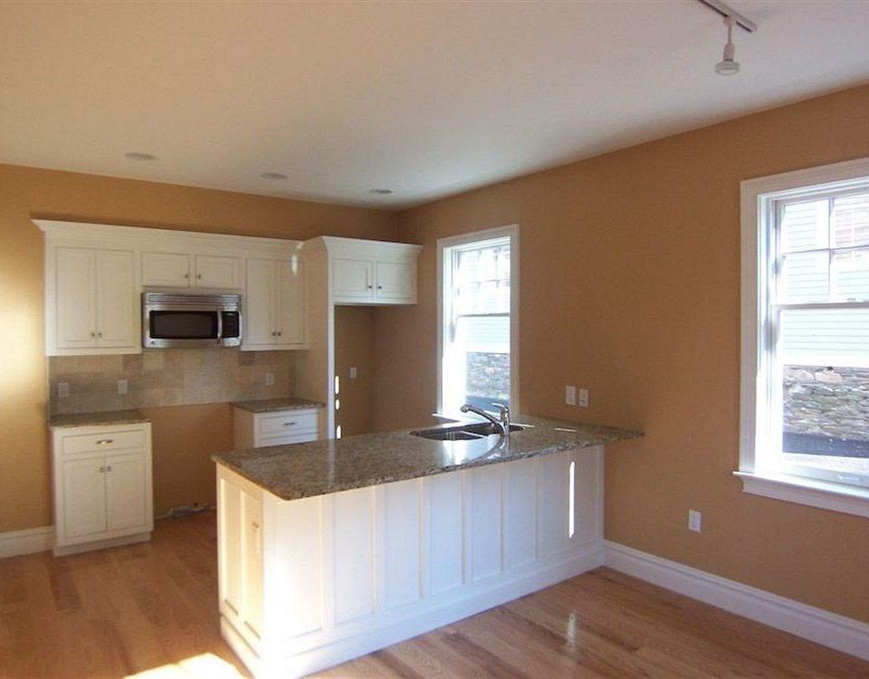 property Kitchen home hardwood cottage cabinetry wood flooring hard