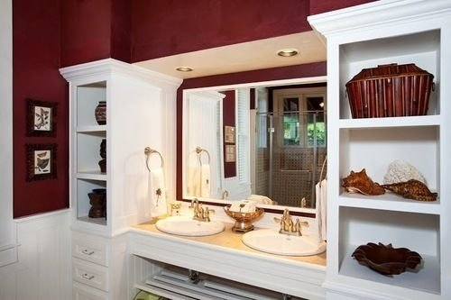 property cabinetry home white Kitchen cottage living room