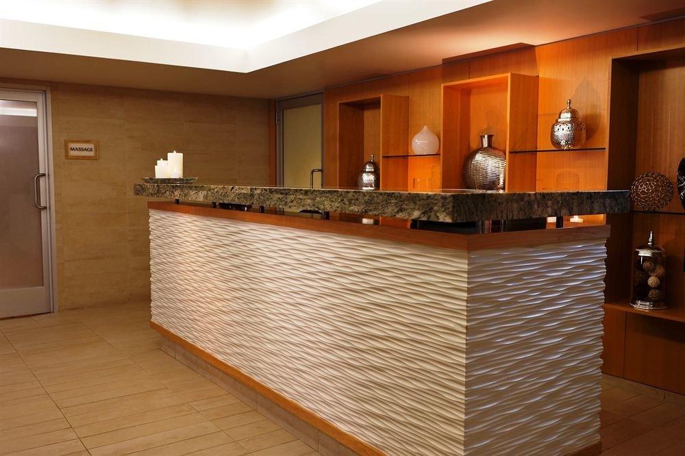property cabinetry hardwood countertop receptionist flooring Kitchen