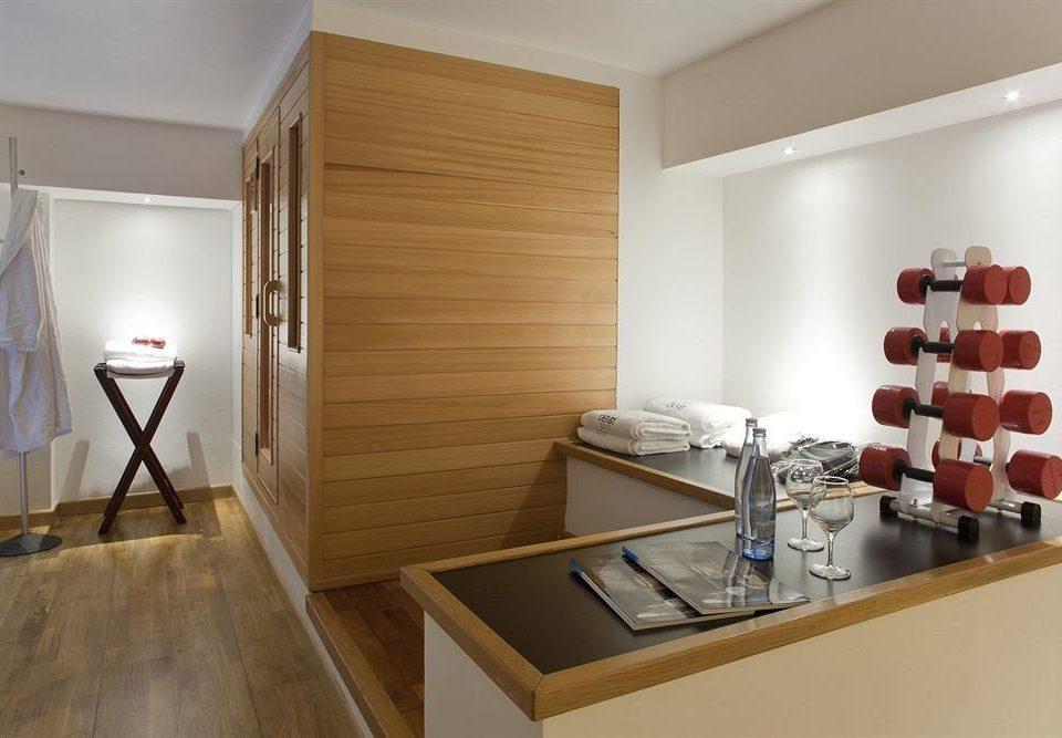 property hardwood cabinetry home flooring Kitchen
