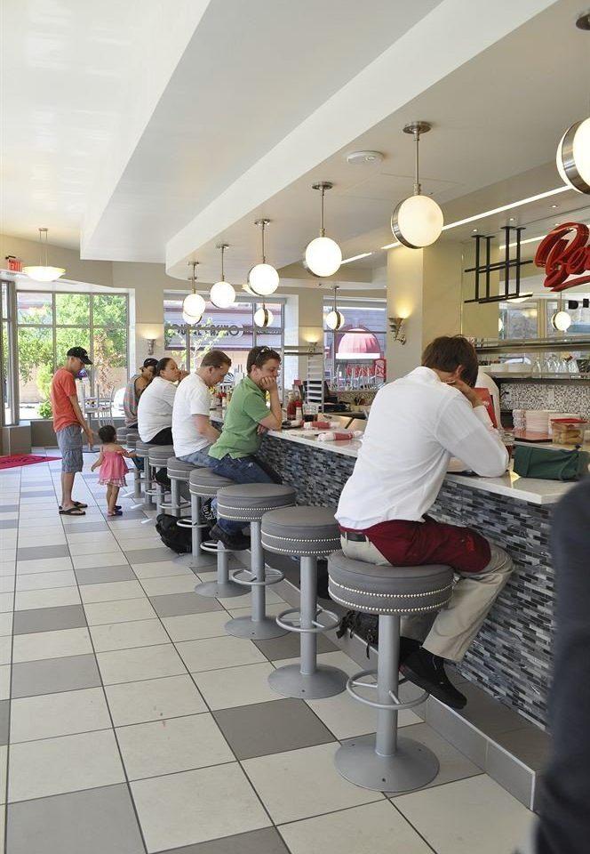 Kitchen preparing working cafeteria counter restaurant food court retail cooking