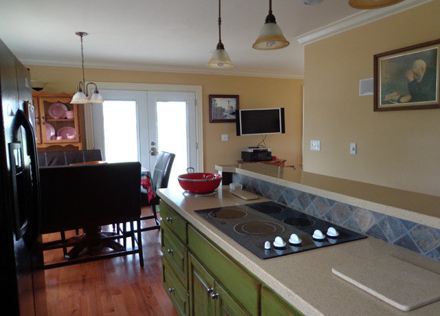 property Kitchen home cottage hardwood condominium