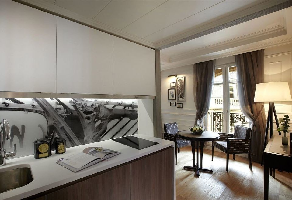 Kitchen property home lighting living room condominium