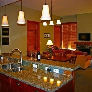 property countertop Kitchen lighting counter cottage