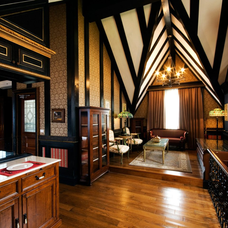 property house home hardwood cottage mansion living room Kitchen farmhouse